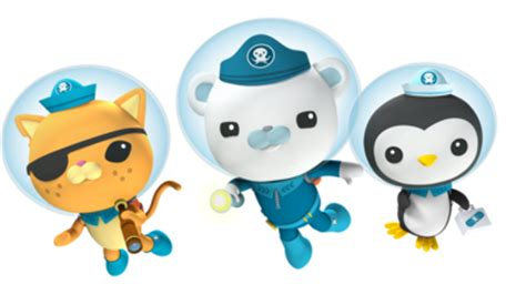 Octonauts creature report book 1